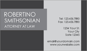 Lawyer Business Card 16
