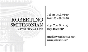 Lawyer Business Card 17