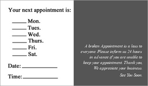 Appointment 02