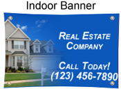 Full Color Indoor Banner