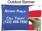 Full Color Outdoor Banner