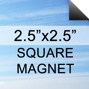 Square Magnets 2.5x2.5