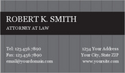 Lawyer Business Card 15